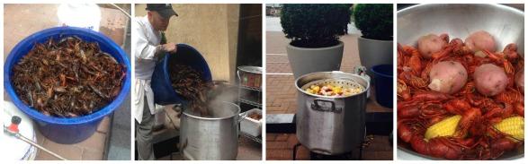 e2 crawfish boil